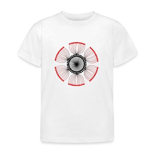 Red Poppy Seeds Mandala - Kids' T-Shirt