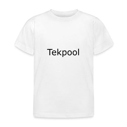 Tekpool - Kinder T-Shirt