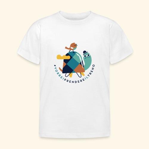 Tartaruga e uccellino - Maglietta per bambini