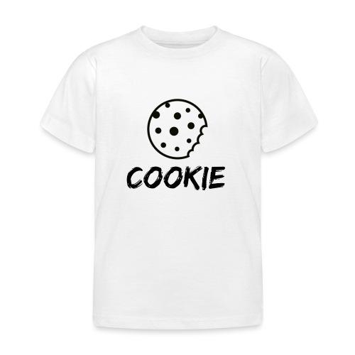 La galleta _-_ Negro _-_ galleta - Camiseta niño