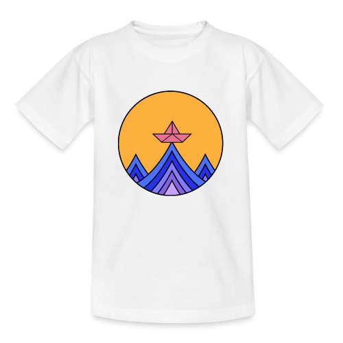papierboot2 - Kinder T-Shirt