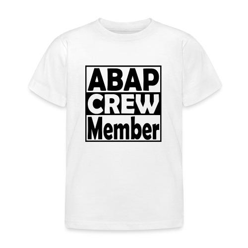 ABAPcrew - Kinder T-Shirt