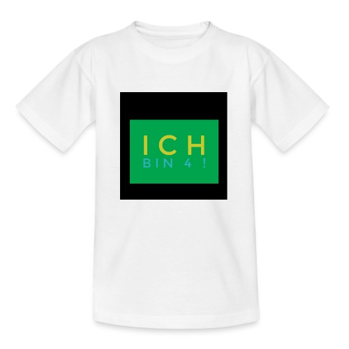 IMG 0270 Ich bin 4 - Kinder T-Shirt