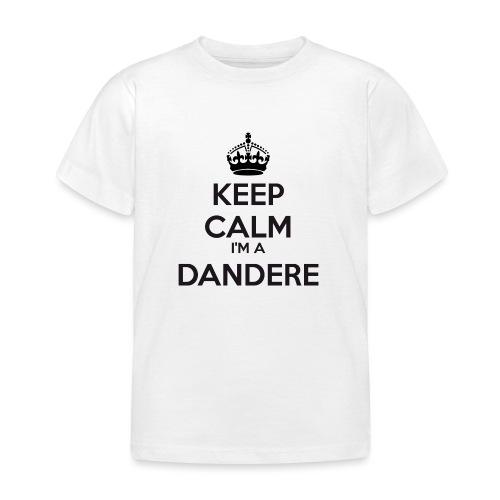 Dandere keep calm - Kids' T-Shirt