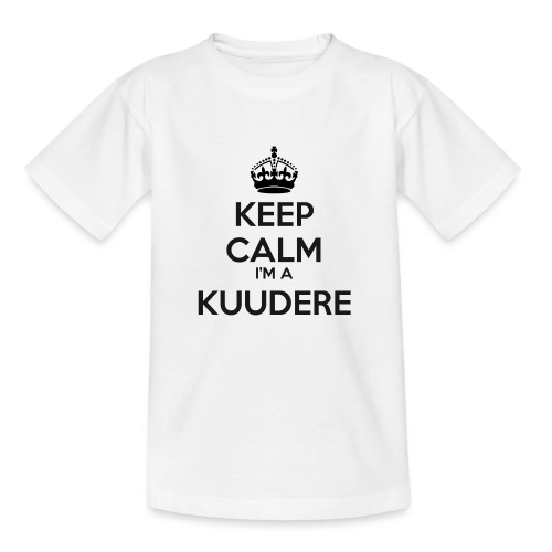 Kuudere keep calm - Kids' T-Shirt