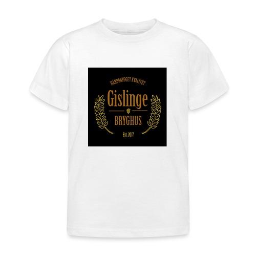 Sort logo 2017 - Børne-T-shirt