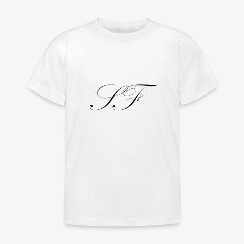 SF HANDWRITTEN LOGO BLACK - Kids' T-Shirt