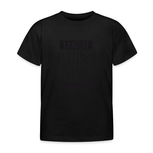 Yandere manga - Kids' T-Shirt