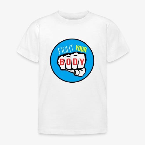 logo fyb bleu ciel - T-shirt Enfant