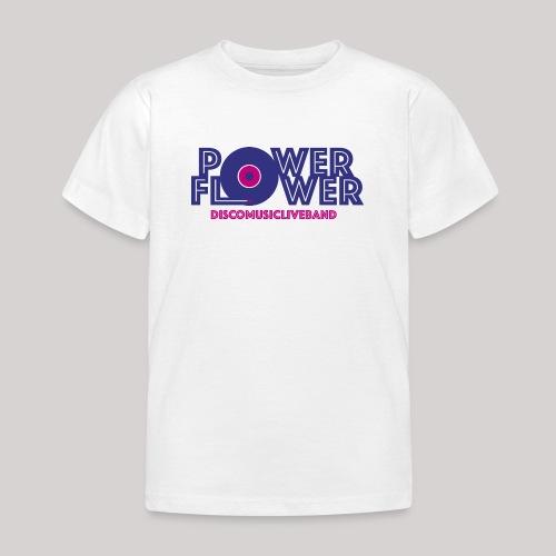 Logo PowerFlower colori - Maglietta per bambini