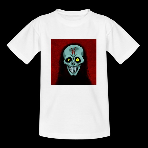 Ghost skull - Kids' T-Shirt