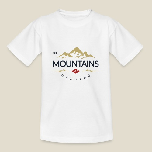 Outdoor mountain - T-shirt Enfant