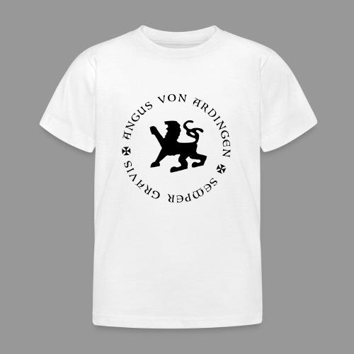 angus von ardingen semper gravis - Kinder T-Shirt