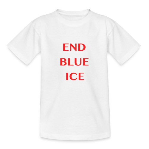 END BLUE ICE - Kids' T-Shirt