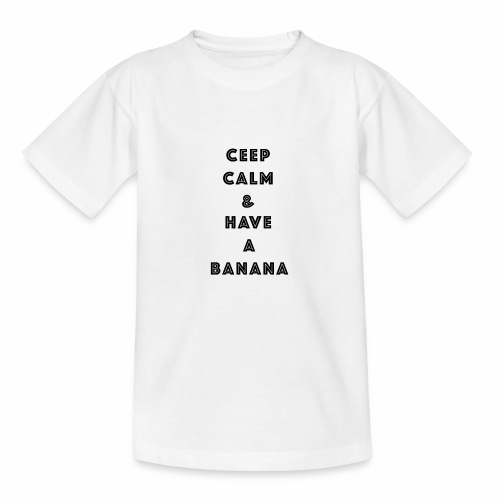 Ceep calm - T-skjorte for barn