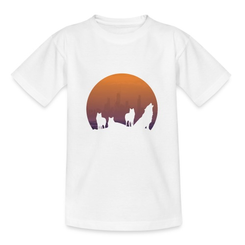 Wolfsrudel - Kinder T-Shirt