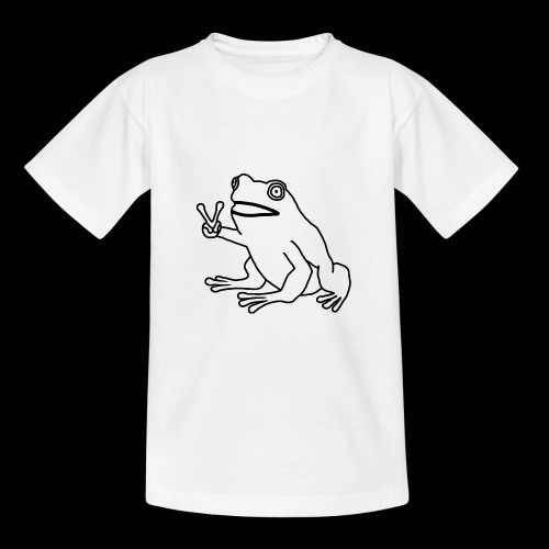 Funny Animal Frog Frosch - Kinder T-Shirt