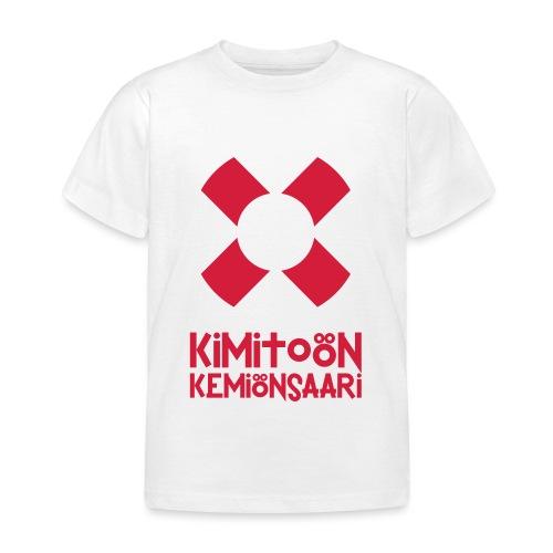 Livboj: Kimitoön (röd text) - Lasten t-paita