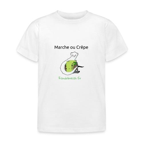 Randobreizh, marche ou crêpe - T-shirt Enfant
