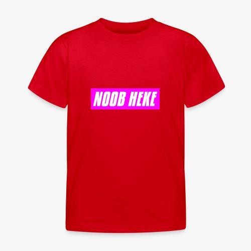 NOOB HEKE - Lasten t-paita