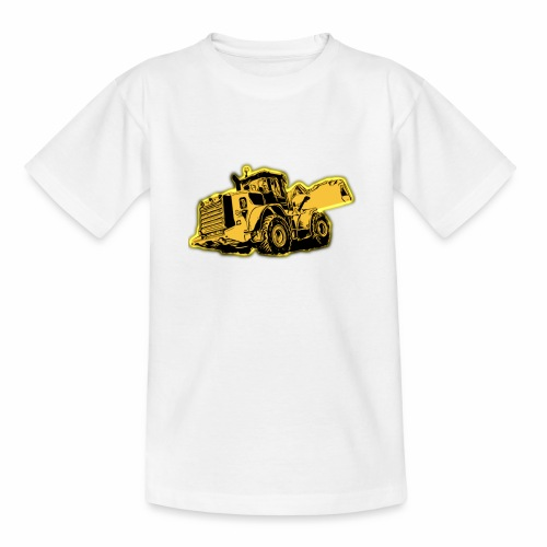Wheel Loader - Kids' T-Shirt