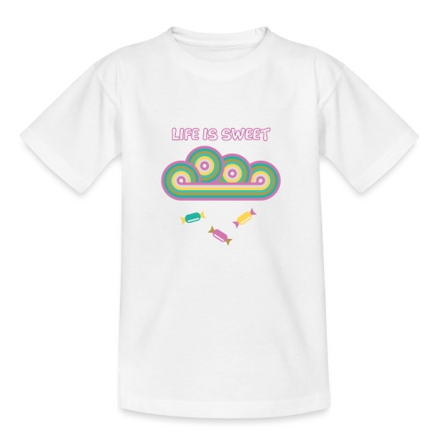 Retro Candy Life is Sweet - Kids' T-Shirt