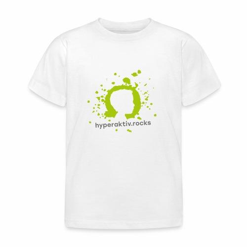 hyperaktiv.rocks Logo - Kinder T-Shirt