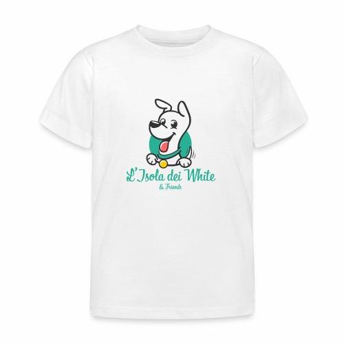 Logo L'Isola dei White & Friends - Maglietta per bambini