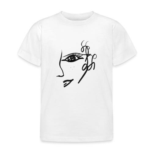 Gesicht - Kinder T-Shirt