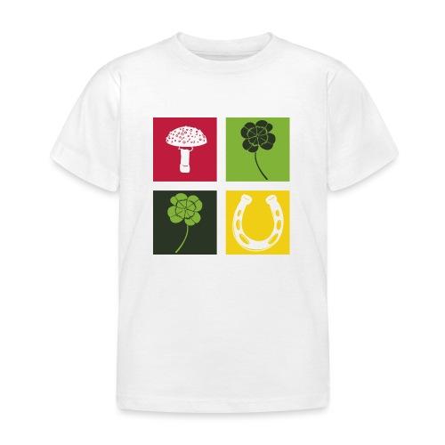 Just my luck Glück - Kinder T-Shirt