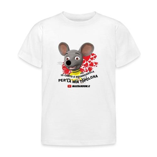 Io Canto a Squarciagola - Maglietta per bambini