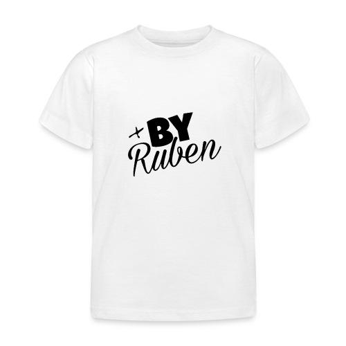 'xByRuben' Wit - Kinderen T-shirt