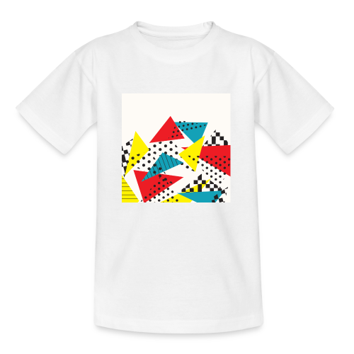 Abstract vintage collage - Kids' T-Shirt