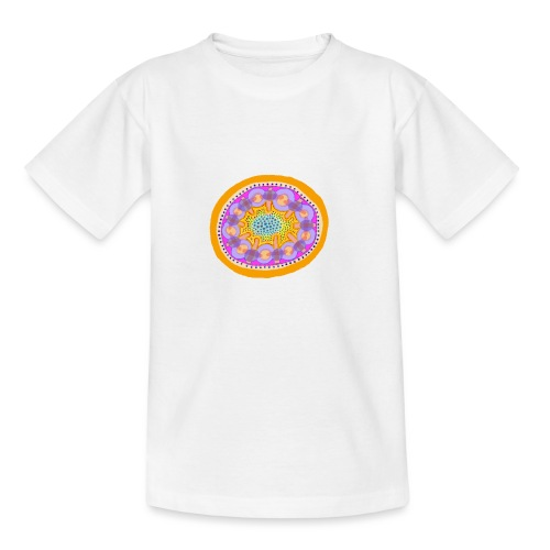 Mandala Pizza - Kids' T-Shirt