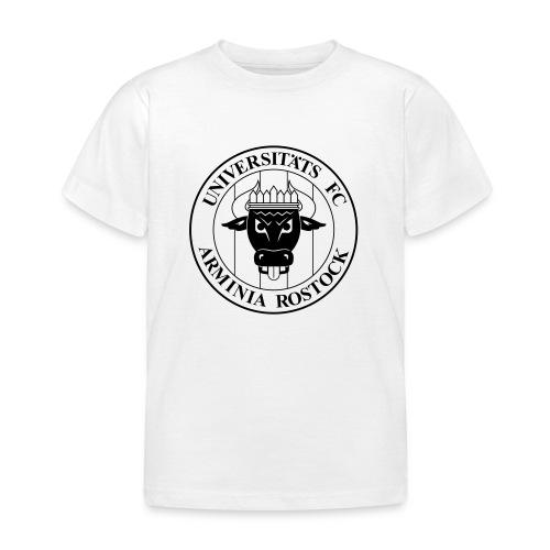 UFC Logo nur schwarz - Kinder T-Shirt