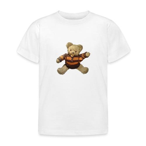 Teddybär - orange braun - Retro Vintage - Bär - Kinder T-Shirt