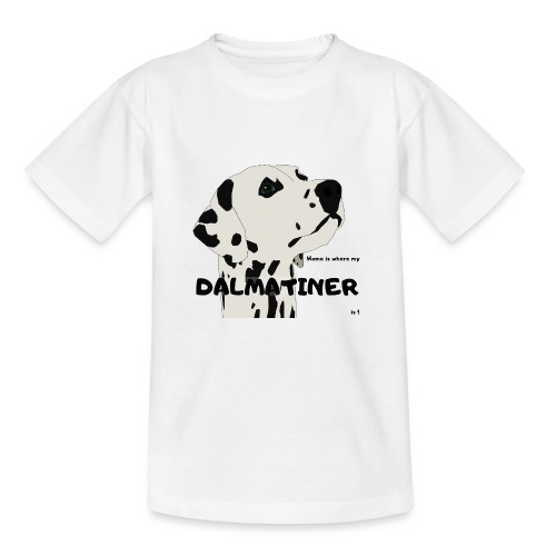 Home is where my Dalmatiner is ! - Kinder T-Shirt
