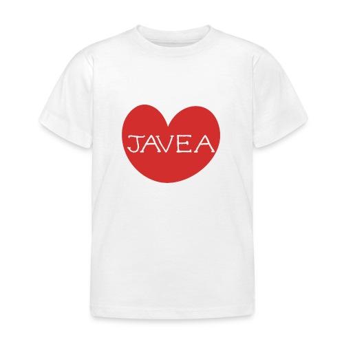 LOVE JAVEA - Camiseta niño