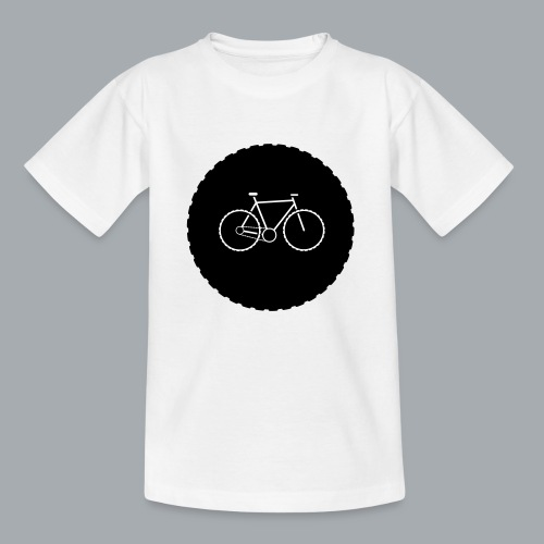 Bike Circle Vector - Kinder T-Shirt
