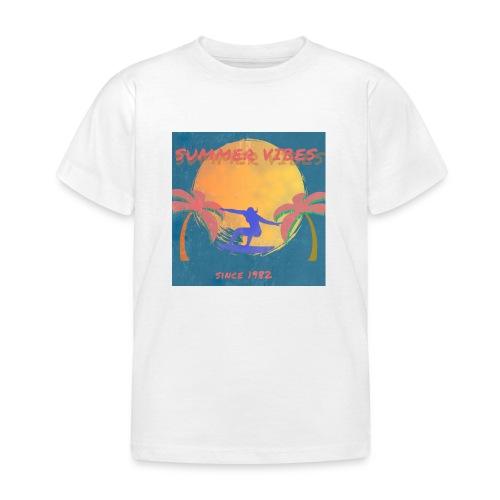 Summer vibes - Camiseta niño