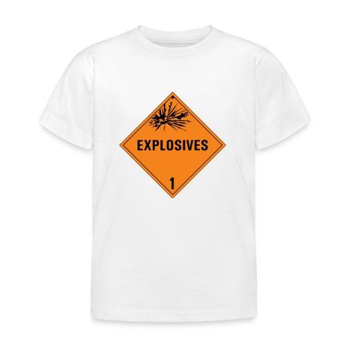 Explosives - Kids' T-Shirt