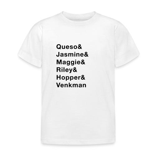 6 Dog Names - Kids' T-Shirt