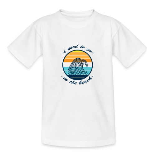 Beach Vibes - Kinder T-Shirt