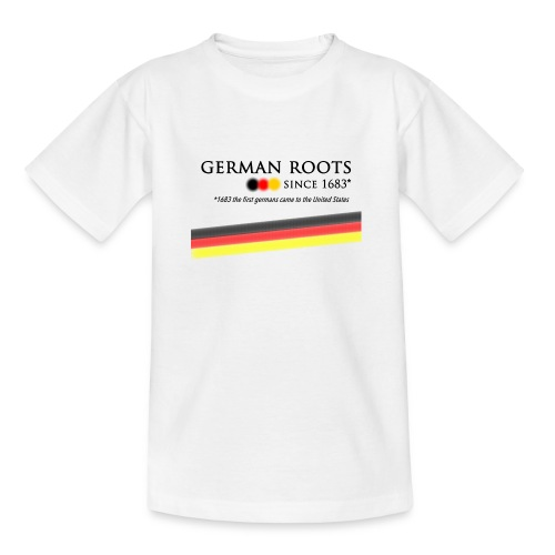 German roots in USA - Kinder T-Shirt