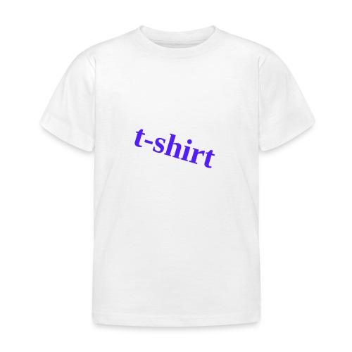 Hemd - Kinder T-Shirt