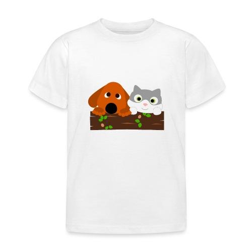 Hund & Katz - Kinder T-Shirt