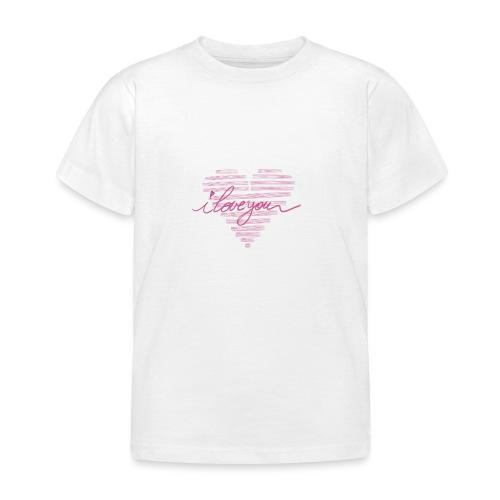 In kalk letters - T-shirt Enfant