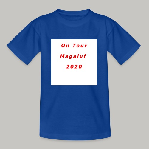 On Tour In Magaluf, 2020 - Printed T Shirt - Kids' T-Shirt