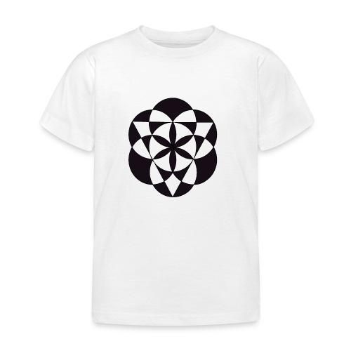 diseño de figuras geométricas - Camiseta niño