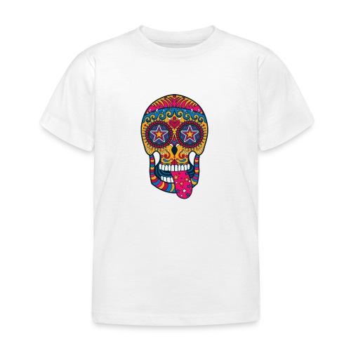 Mexican Skull - Maglietta per bambini